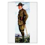Señor Baden-Powell - fundador de exploración Tarjetas