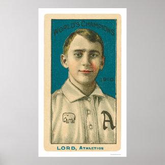 Señor Baseball 1910 de Bris Poster