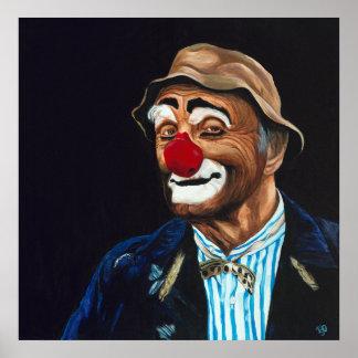 Senor Billy The Hobo Clown Poster