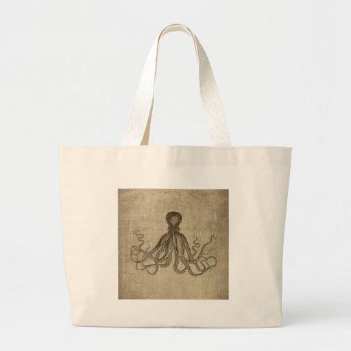 Señor Bodner Octopus Triptych del vintage Bolsa De Mano