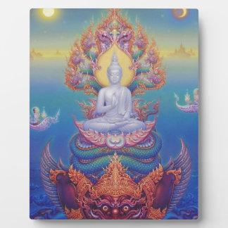 Señor Buda Placa De Madera