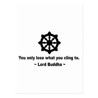 Señor Buda Quote Tarjeta Postal