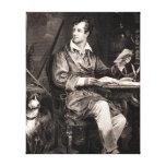 Señor Byron Portrait Victorian Poet de los 1800s d Impresiones En Lona