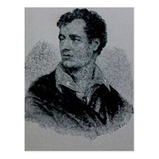 Señor Byron Postcard Postal