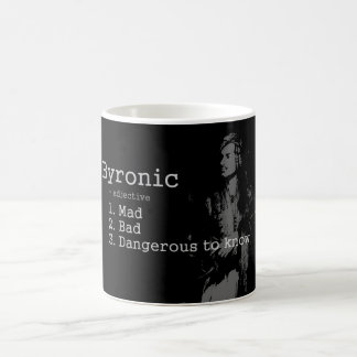 "Señor Byron - taza de ""Byronic"""