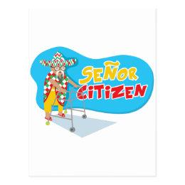 Senor Citizen strikes again! Postcard