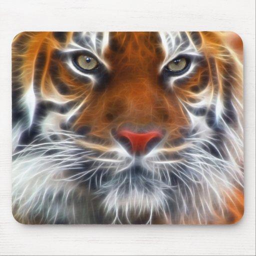 Señor de las selvas indias, el tigre de Bengala re Alfombrilla De Ratones