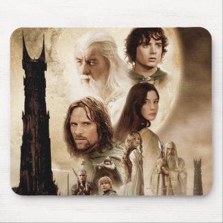 Señor de los anillos: El cartel de película de dos Alfombrillas De Ratones