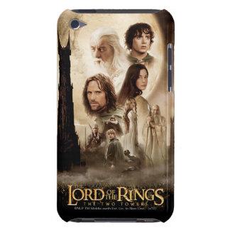 Señor de los anillos: El cartel de película de dos Barely There iPod Fundas
