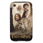 Señor de los anillos: El cartel de película de dos iPhone 3 Tough Cárcasa