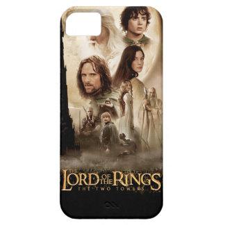 Señor de los anillos: El cartel de película de dos iPhone 5 Carcasas