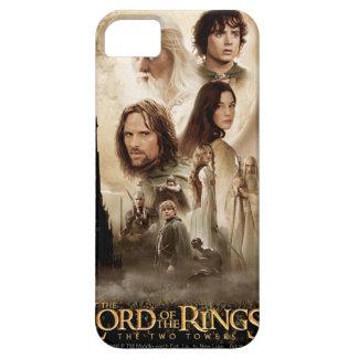 Señor de los anillos: El cartel de película de dos iPhone 5 Fundas