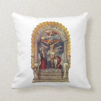 Señor de los milagros DOD Throw Pillow