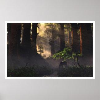 Señor del bosque póster