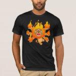 ¡Señor del fuego!! camiseta (del león lindo del