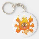 ¡Señor del fuego!! llavero (del león lindo del dib