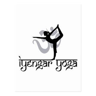 Señor del regalo de la yoga de Iyengar de la Tarjetas Postales
