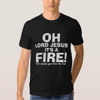 Señor divertido Jesús It del OH es un texto del Playeras