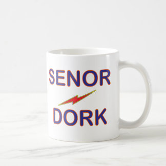 Senor Dork Mug Taza Clásica