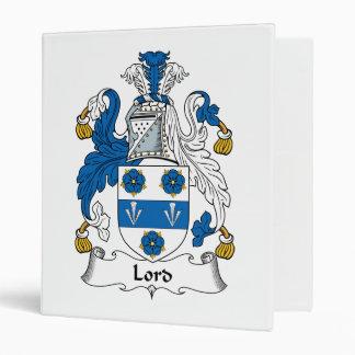 "Señor Family Crest Carpeta 1"""