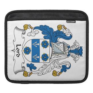 Señor Family Crest Mangas De iPad