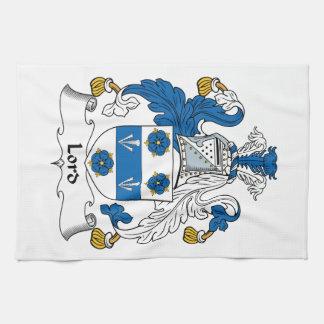 Señor Family Crest Toallas
