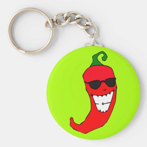 Señor fresco Red-hot Pepper Llaveros Personalizados
