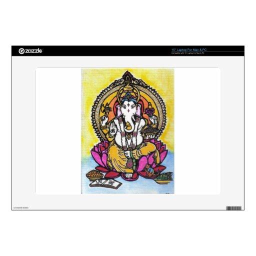 Señor Ganesha 38,1cm Portátil Calcomanía