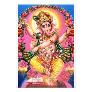 Señor Ganesha del baile Invitaciones Personalizada