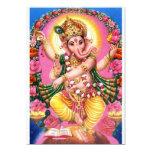 """Señor Ganesha del baile Invitación 5"""" X 7"""""""