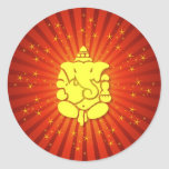 Señor Ganesha el chispear Etiqueta