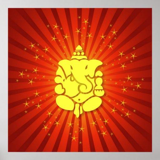 Señor Ganesha el chispear Posters
