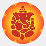 Señor Ganesha Pegatina