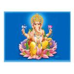 Señor Ganesha Postcard Postales