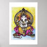 Señor Ganesha Poster