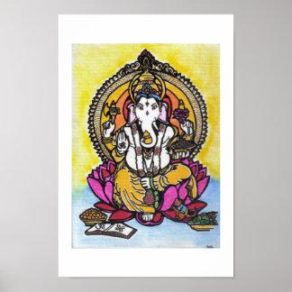 Señor Ganesha Póster