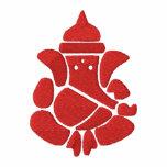Señor Ganesha Sign Polo Bordado
