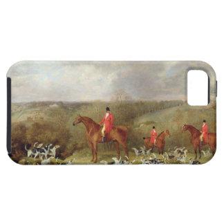 Señor Glamis y sus sabuesos, 1823 (aceite en canva Funda Para iPhone SE/5/5s