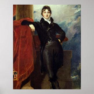 Señor Granville Leveson-Gower, más adelante 1r con Poster