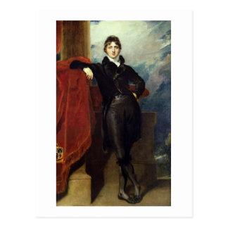 Señor Granville Leveson-Gower, más adelante 1r Tarjetas Postales