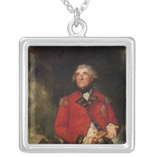 Señor Heathfield Governor de Gibraltar Colgante Cuadrado