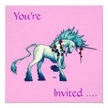 Señor Invitation Cards del unicornio… Invitación 13,3 Cm X 13,3cm