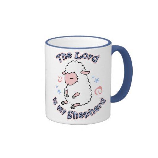 Señor Is My Shepherd Mug Tazas