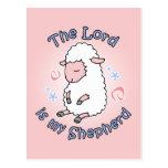 Señor Is My Shepherd Postcard Postales