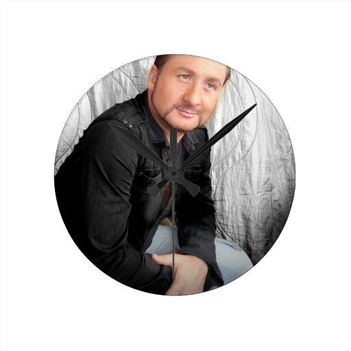Señor Jason Music 3 Reloj Redondo Mediano