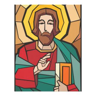 Señor Jesucristo Plantillas De Membrete