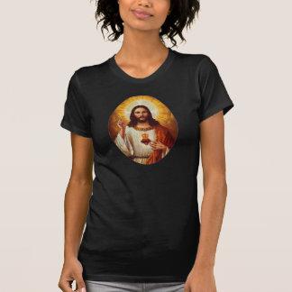 Señor Jesucristo y el corazón sagrado Poleras