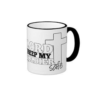 Señor Keep mi taza segura del viaje del soldado