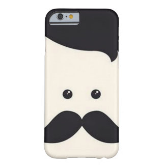 ¡Señor Moustache! Funda De iPhone 6 Barely There