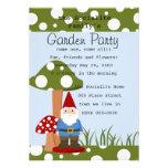 Señor Mushroom Garden Gnome